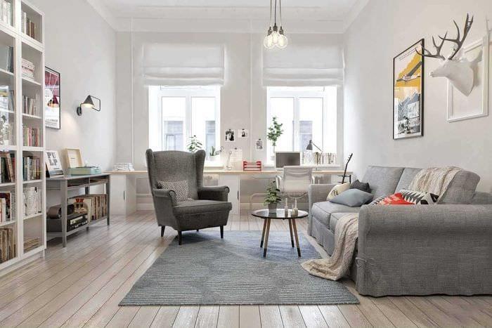 между дизайн квартир в скандинавском стиле фото этим