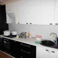 пример яркого стиля кухни 9 кв.м картинка