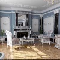 идея необычного декора квартиры в романском стиле фото