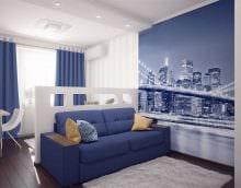 идея необычного декора маленькой комнаты в общежитии фото