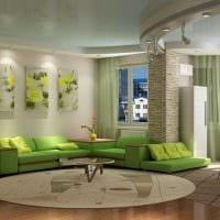 идея красивого сочетания цвета в дизайне современной комнаты картинка