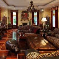вариант красивого стиля дома в романском стиле картинка