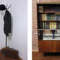 идея яркого декора комнаты в советском стиле картинка