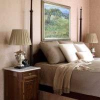 вариант применения розового цвета в красивом дизайне комнате картинка