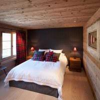 идея использования светлого ламината в красивом стиле дома фото