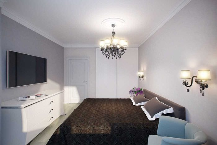 вариант использования светового дизайна в красивом стиле дома