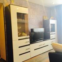 идея красивого декора небольшой комнаты в общежитии картинка