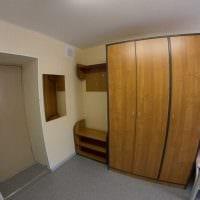 вариант красивого декора небольшой комнаты в общежитии картинка