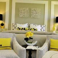 вариант необычного сочетания цвета в декоре современной комнаты картинка