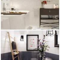 идея яркого дизайна квартиры в скандинавском стиле фото