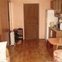 идея необычного интерьера маленькой комнаты в общежитии фото