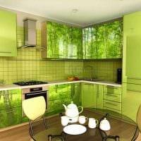 идея необычного интерьера кухни 14 кв.м картинка