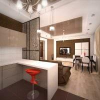 вариант красивого дизайна квартиры фото