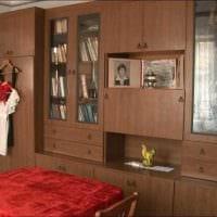 идея яркого стиля комнаты в советском стиле картинка