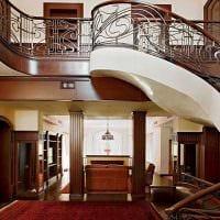 идея яркого стиля дома в романском стиле фото