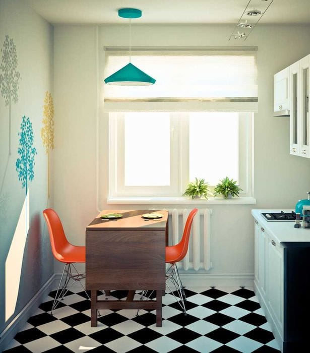 идея красивого стиля двухкомнатной квартиры
