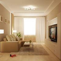 идея яркого стиля спальни гостиной 20 кв.м. картинка