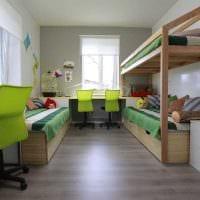 идея светлого стиля комнаты для девочки 12 кв.м картинка