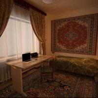 вариант необычного декора квартиры в советском стиле фото