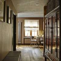 вариант интересного интерьера комнаты в советском стиле фото