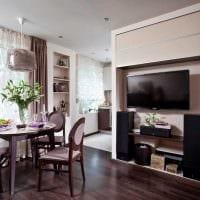 вариант необычного интерьера квартиры фото