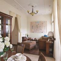 идея яркого дизайна квартиры в советском стиле картинка