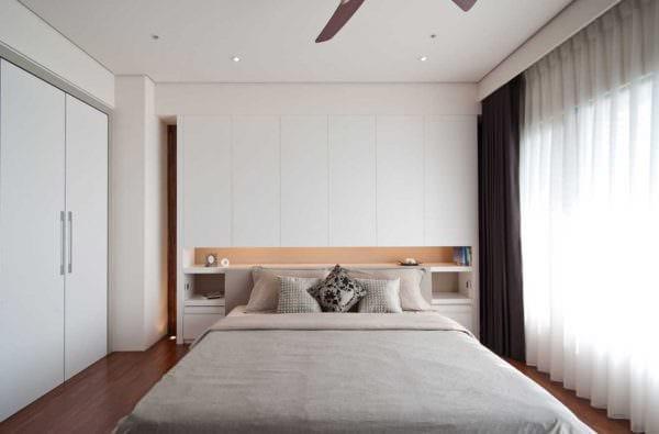 вариант необычного дизайна спальной комнаты для молодого человека фото