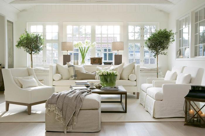 вариант светлого стиля квартиры в скандинавском стиле