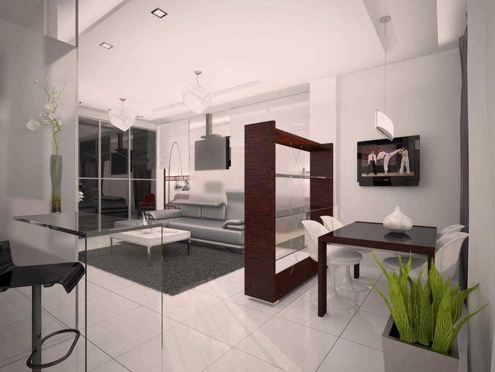 идея необычного дизайна квартиры