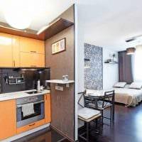 вариант яркого декора маленькой комнаты в общежитии картинка