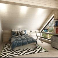 идея необычного стиля спальной комнаты для молодого человека фото