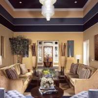 идея яркого сочетания бежевого цвета в стиле комнаты фото