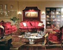 идея светлого интерьера дома в романском стиле картинка