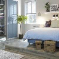 идея яркого стиля гостиной спальни 20 кв.м. картинка