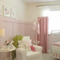 идея применения розового цвета в необычном интерьере квартире картинка