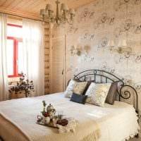 пример применения русского стиля в красивом декоре квартире фото