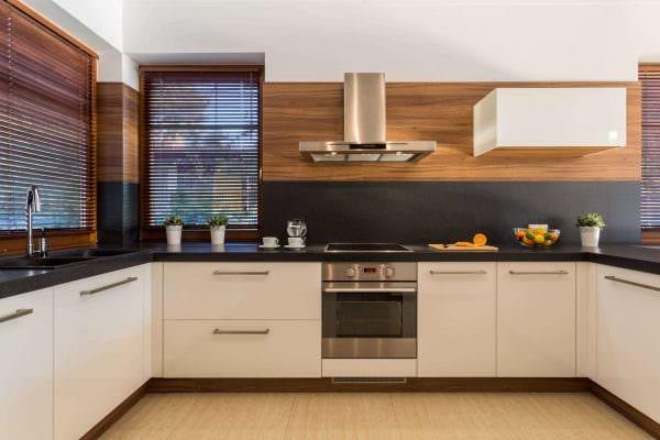 пример использования необычного дизайна кухни фото