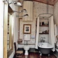 пример применения необычного дизайна комнаты в стиле ретро фото
