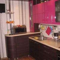 вариант необычного декора кухни 9 кв.м картинка