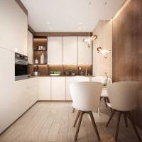 пример яркого интерьера кухни 8 кв.м картинка