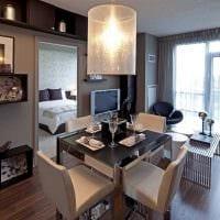 пример красивого стиля двухкомнатной квартиры картинка