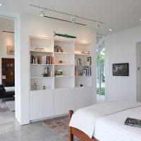 вариант светлого дизайна двухкомнатной квартиры картинка