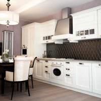 идея применения необычного стиля кухни картинка
