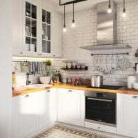 пример использования красивого интерьера кухни фото