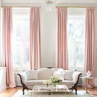 пример применения современных штор в красивом дизайне квартире фото
