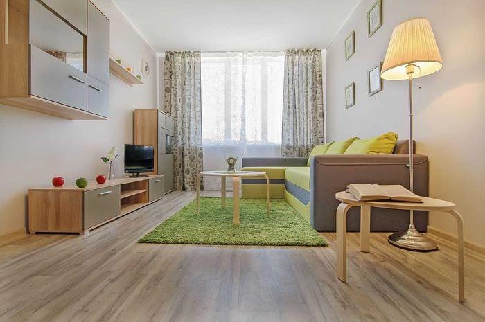 идея красивого декора двухкомнатной квартиры