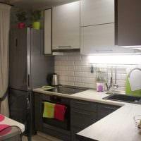 пример красивого дизайна кухни 8 кв.м картинка