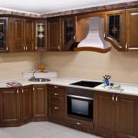 пример яркого интерьера кухни 9 кв.м картинка