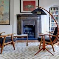 идея яркого интерьера квартиры в советском стиле картинка