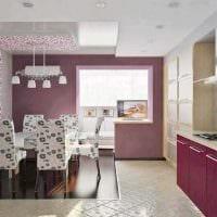 вариант применения розового цвета в светлом интерьере квартире фото